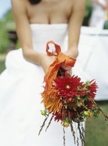 Höst Bröllopsbuketter & brudtärna blommor