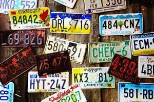 Hur man minns en registreringsskylt antal