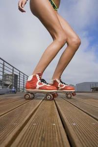 Quad skridskor: Hur till få Skate att rida rakt