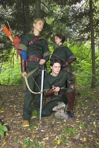 Bow & pilar används i medeltiden