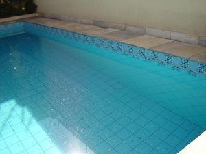 Hur till ren Pool Coping