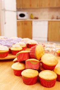 Förvaring av tårtor och Cupcakes innan glasyr
