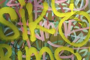 Hur du utformar din egen Graffiti ord på en dator