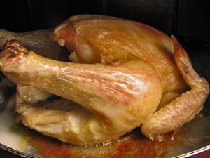 Hur man lagar en hel kyckling