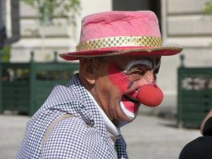 Clown konst verksamhet
