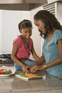 All-flickor matlagning spel
