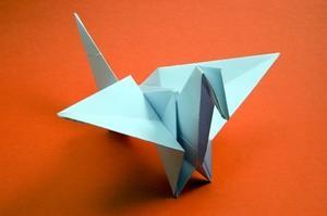 Hur man gör Origami Swan papper siffror