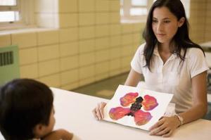 Psykologiska projektiv tester för att avgöra skillnader i uppfattning