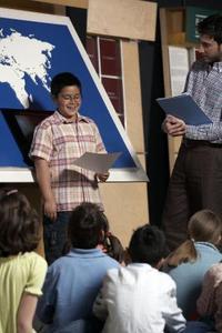 Rolig Middle School tal ämnen