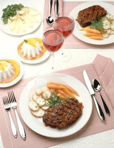 Enklare måltider för årsdagen middagar