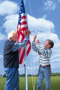 Hur man kör en Boy Scout flagga ceremoni