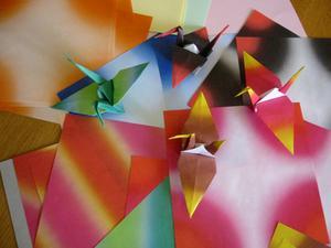 Hur man gör Origami Papper Party lanternor