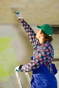 Hur att reparera ett texturerat tak