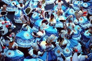 Hur man gör brasiliansk karneval masker