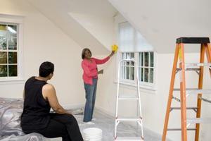Hur målar man fönster invändigt