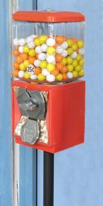 Hur till sätta fast bruten varuautomat lås