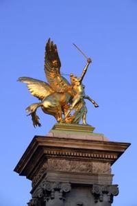 Hur att skulptera en lera skulptur Pegasus