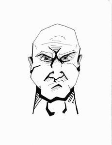 Hur man drar ett Argt ansikte