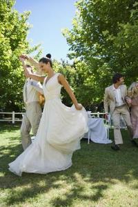Picknick-tema bröllop idéer