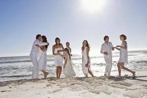 Beach bröllop buffé meny idéer