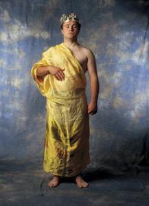 Antika grekiska kläder verksamhet