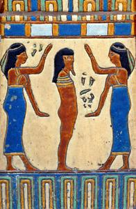 Fornegyptisk konst tekniker