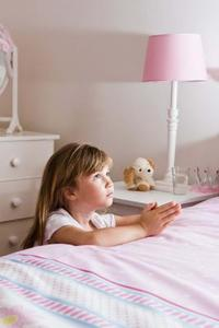 Hur man drar en liten flicka som be
