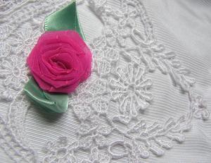Hur man gör sidenband rosor