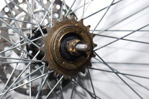 Skivbroms cykel gnisslar