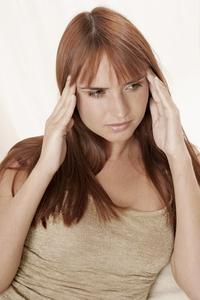 huvudvärk pannan