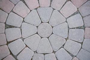 Hur man lägger en tegelsten cirkel