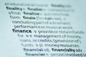 Definition av källor för finansiering