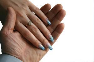 Hur ansöker akryl naglar med borr utrustning
