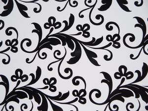 Living room designidéer i svart & vit