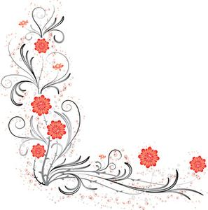 Hur man utformar blomma hörnet bröllopinbjudningar