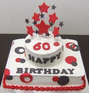 Hur att dekorera en tårta för en 60-årsdag