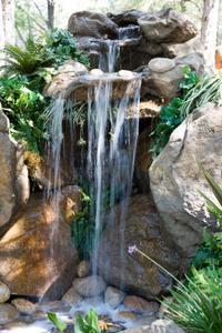Hur man designar & bygga ett landskap vattenfall