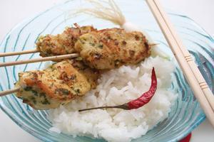Hur värma upp kyckling och ris
