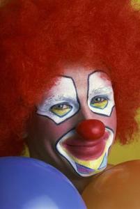 Hur man målar en Clown ansikte