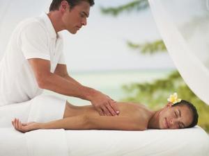 varm massage djup hals