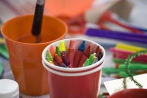 Kul enkel konst verksamhet för 6-åringar