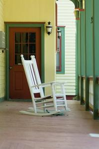Instruktioner för att bygga en tillbaka veranda