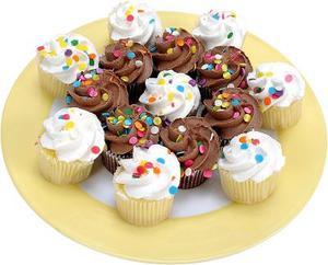 Hur man sätter ihop Cupcakes att se ut som en stor tårta