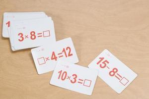 Hur man memorera gånger tabeller