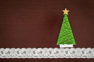 Hur man gör viktorianska juldekorationer av spetsar