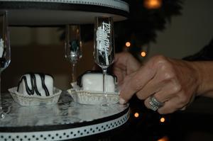 Enkelt göra det själv bröllopstårta design