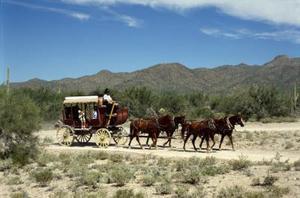 Hur du koppla in fyra hästar till en vagn