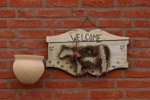 Trä Välkommen hantverk