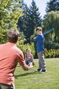 Familjen sportaktiviteter för alla
