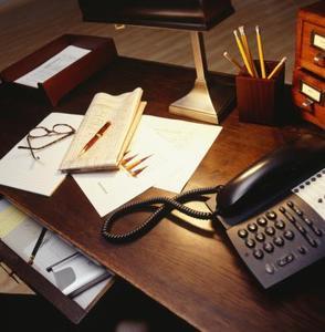DIY skrivbord låda avdelare